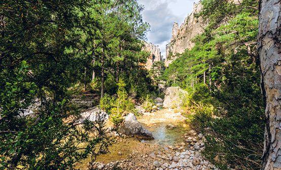 Mejores rincones naturales Aragón Parrizal de Beceite
