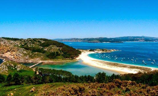 mejores rincones naturales galicia Illas Cies