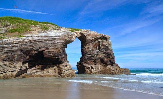 mejores rincones naturales galicia Playa de las Catedrales